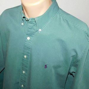 Polo Ralph Lauren long sleeve button down. L